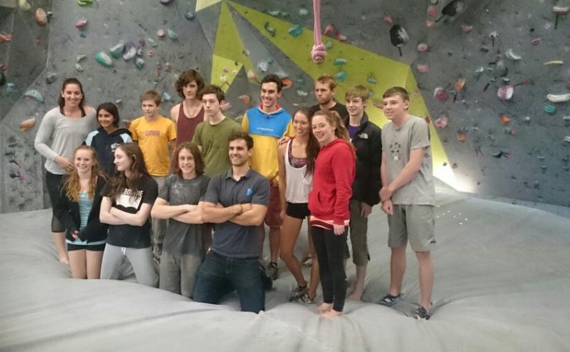 Australian Youth ClimbingTeam